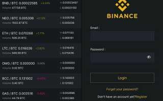 Сайт торговли криптовалютой