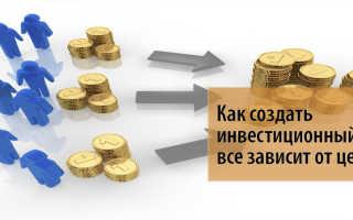 Порядок создания акционерного инвестиционного фонда