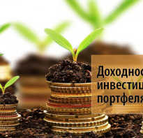 Уровень доходности инвестиционного портфеля