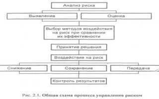 Основные процессы управления рисками