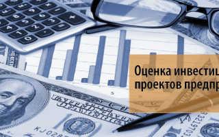 Методы оценки инвестиционной деятельности предприятия