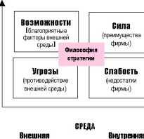 Матричный анализ предприятия
