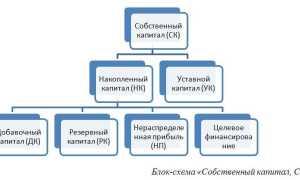 Доля накопленного капитала формула по балансу