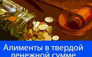 Алименты не в денежной форме