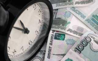 Два дня просрочки платежа по кредиту