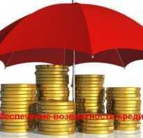 Способы обеспечения кредита
