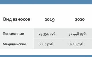 Платеж ип 2020
